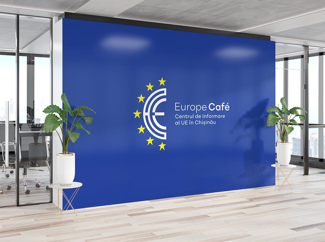 Logo proposal – EUROPE CAFÉ