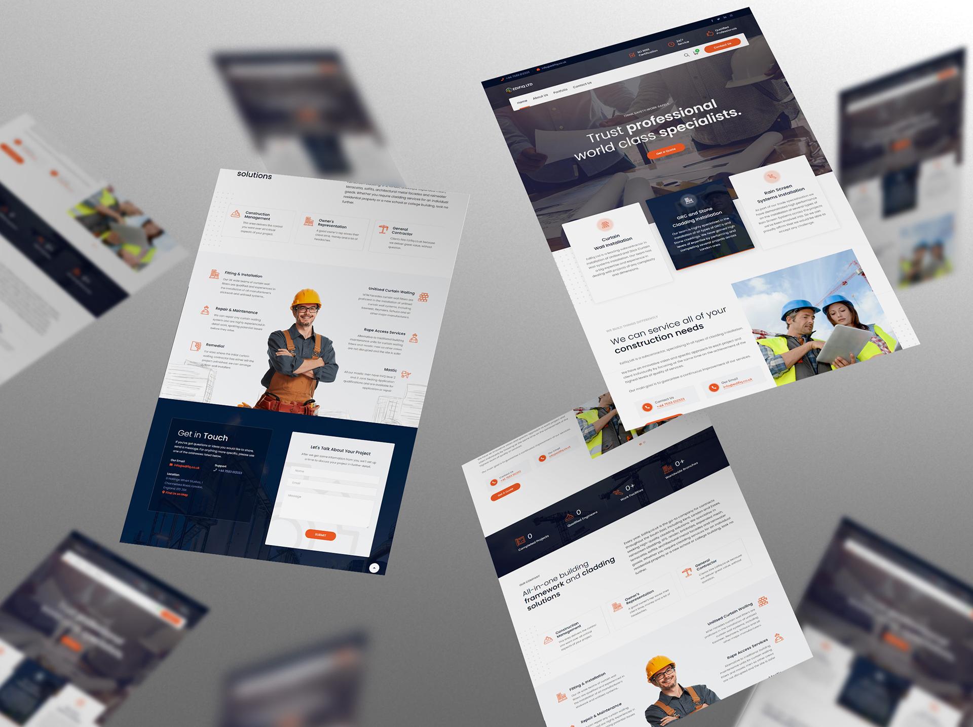 Web design – Edifiq