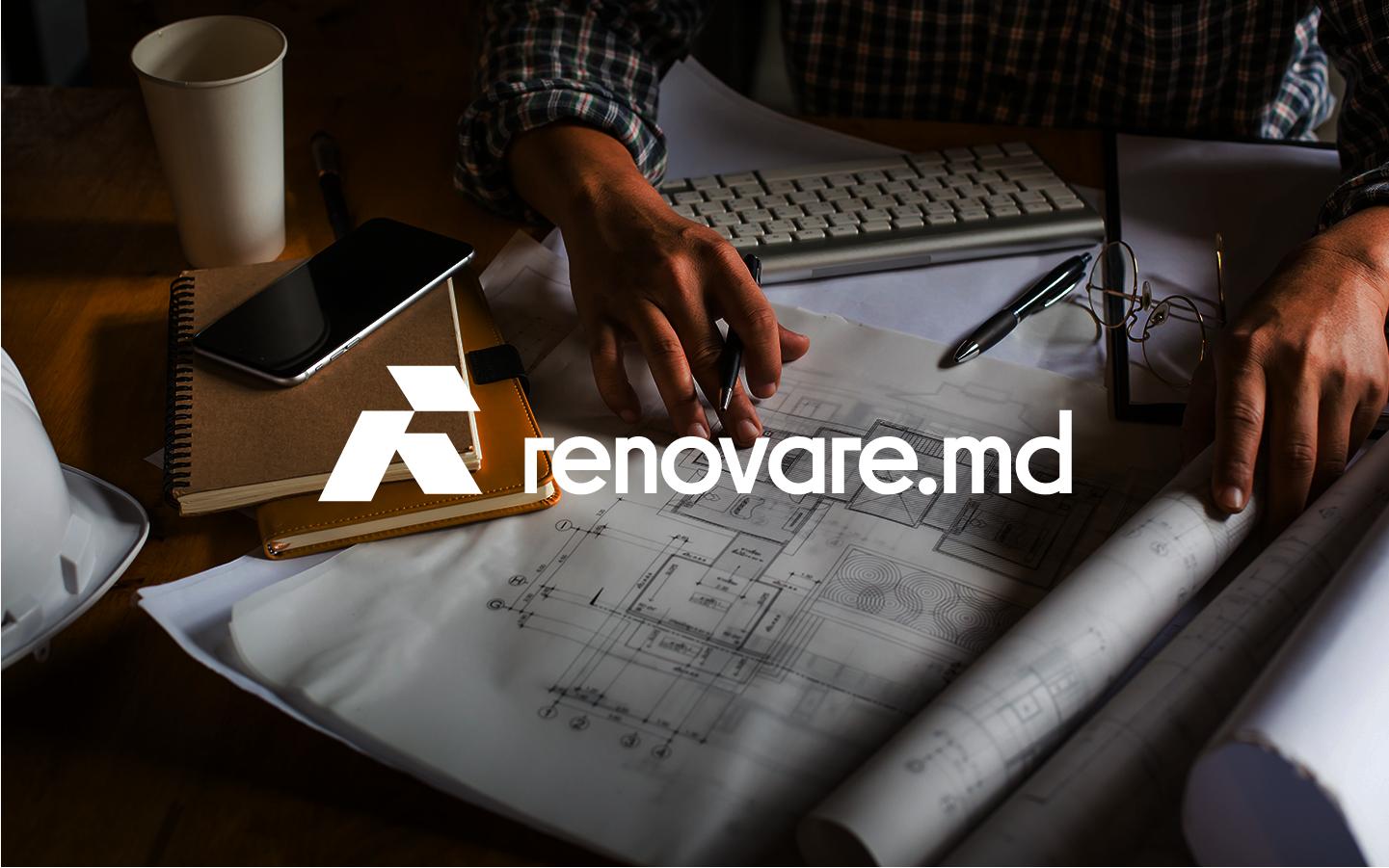 Logo Design- renovare.md